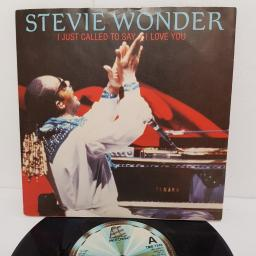 "STEVIE WONDER, I just called to say I love you, B side (instrumental), TMG 1349, 7"" single"