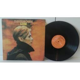DAVID BOWIE low, stereo. 1977 Press on orange rca victor label