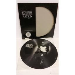 JANET JACKSON rhythm nation 1814, picture disc, limited edition, numbered: 4231, AMAP 3920