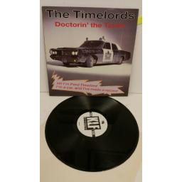 THE TIMELORDS doctorin' the tardis, 12 inch single, KLF 003T