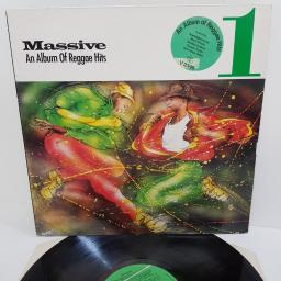 "MASSIVE 1: AN ALBUM OF REGGAE HITS, V 2346, 12"" LP, compilation"