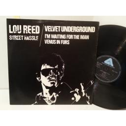 LOU REED / THE VELVET UNDERGROUND street hassle, 12 inch single, ARIST 12198