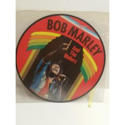 BOB MARLEY AND THE WAILERS Bob Marley and the Wailers PICTURE DISC ar30004