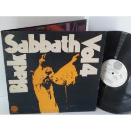 BLACK SABBATH volume 4, 6360 071, gatefold