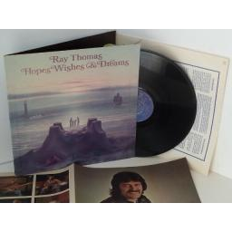 RAY THOMAS hopes wishes and dreams, gatefold, THS 17
