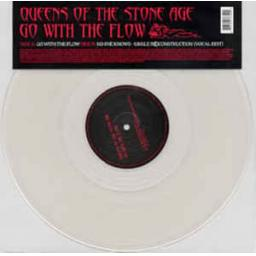 "QUEENS OF THE STONE AGE, go with the flow, 12"" SINGLE CLEAR VINYL, 497 870-0"