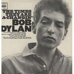 BOB DYLAN The Times They Are A-Changin'