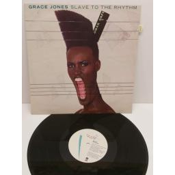 "GRACE JONES slave to the rhythm (12""single), 12IS 206"