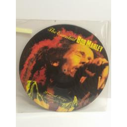 BOB MARLEY The essential Bob Marley 20 great songs PICTURE DISC pixlp1
