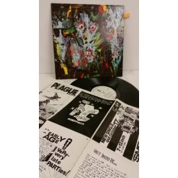 "ALIEN SEX FIEND ""it"" the album, poster, GRAM 26"