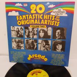 "20 FANTASTIC HITS BY THE ORIGINAL ARTISTS (VOLUME TWO), 2891 002, 12"" LP"