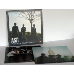 ASH, twilight of the innocents Double heavy vinyl. First press 2007.
