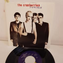 "THE CRANBERRIES, zombie, B side away, IS 600, 7"" single"