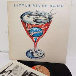 "LITTLE RIVER BAND, diamantina cocktail, EMC 3187, 12"" LP"
