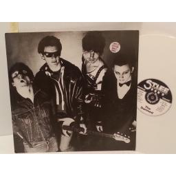 "THE DAMNED new rose WHITE VINYL, 12"" single, limited edition, BUYIT 6"
