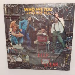 "THE WHO, who are you, MCAP-14950, 12"" LP, picture disc"
