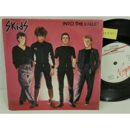 SKIDS into the valley, PICTURE SLEEVE, 7 inch single, VS241