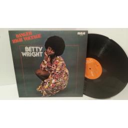 BETTY WRIGHT danger - high voltage, SF 8408
