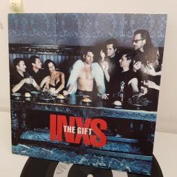 "INXS, the gift, B side the gift extended mix , INXS 25, 7"" single"