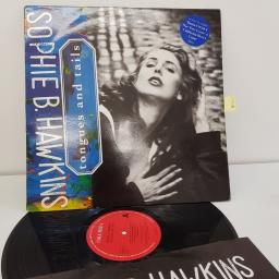 "HAWKINS, SOPHIE B. tongues and tails, 12"" LP, COLUMBIA 468823-1"