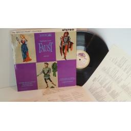 Highlights from Faust, Gounod. ASD 412. White Gold label ED1
