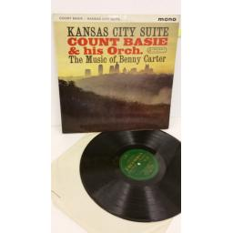 COUNT BASIE AND HIS ORCHESTRA kansas city suite - the music of benny carter, 33SX 1347