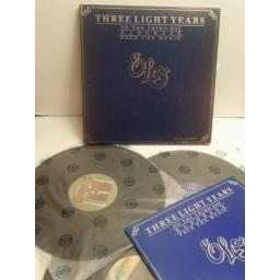ELO Three Light Years, on the third day, eldorado, face the music SPECIAL EDITION BOX SET WITH LYRIC BOOK. JETBX1. ELECTRIC LIGHT ORCHESTRA