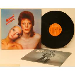 DAVID BOWIE, Pinups With insert. First UK pressing 1973. RCA. [Vinyl]