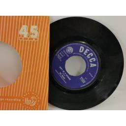 THE MOJOS why not tonight, 7 inch single, F 11918