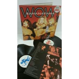 BANANARAMA wow!, gatefold, album + 12 inch single, RAMA G4