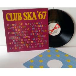 VARIOUS ARTISTS club ska '67