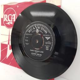 "JEFFERSON AIRPLANE, white rabbit, B side plastic fantastic lover, RCA 1631, 7"" single"