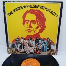 "THE KINKS, preservation act 1, LPL1-5002, 12"" LP"