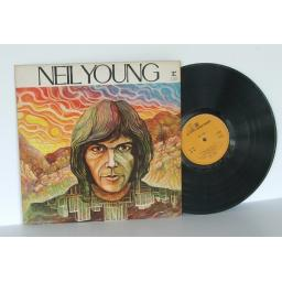 NEIL YOUNG Neil Young. UK pressing. 1970. [Original recording] [Vinyl]