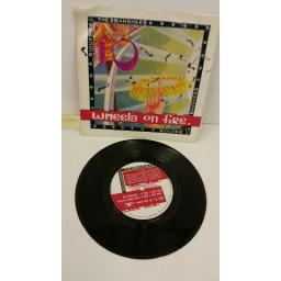 SIOUXSIE & THE BANSHEES this wheel's on fire, 7 inch single, SHE 11