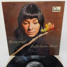 "BUFFY SAINTE-MARIE, it's my way, TFL 6040, 12"" LP, mono"