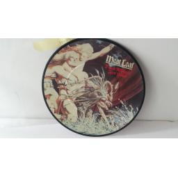 "MEATLOAF dead ringer for love, 7"" picture disc, EPC 11-1697"
