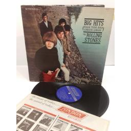 THE ROLLING STONES big hits (high tide and green grass) NPS-1