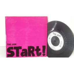 THE JAM start, 2059 266, picture sleeve 7 inch single
