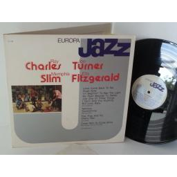 ELLA FITZGERALD, MEMPHIS SLIM, JOE TURNER, RAY CHARLES AND HIS ORCHESTRA europa jazz, EJ-1026, gatefold