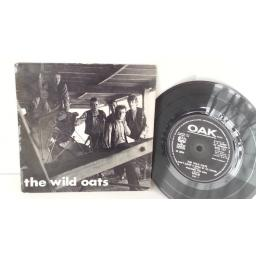 THE WILD OATS willie, carl, picture sleeve MONO 7 inch EP, RGJ 117