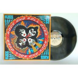 KISS Rock and Roll Over. First press on Casablanca records printed in Holland...