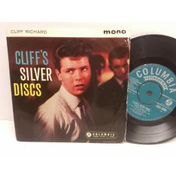 CLIFF RICHARD Cliff's silver discs.4 track picture sleeve EP. SEG 8050