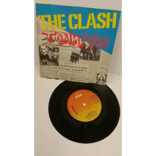 THE CLASH tommy gun, 7 inch single, CBS 6788