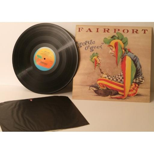 FAIRPORT , gottle o'geer. Top copy. Very rare. First UK pressing 1976. Handwr...