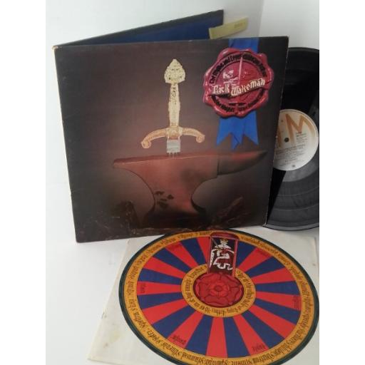 RICK WAKEMAN the myths and legends of king arthur and the knights of the round table, AMLH 64515, gatefold