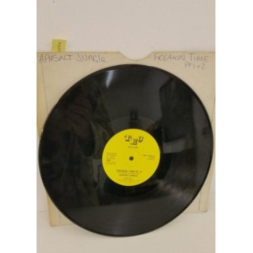 ASPHALT JUNGLE freakin' time, 12 inch single, #65