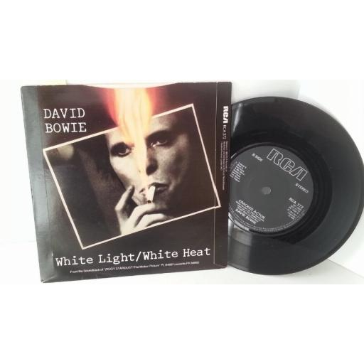 DAVID BOWIE white light / white heat, 7 inch single, RCA 372