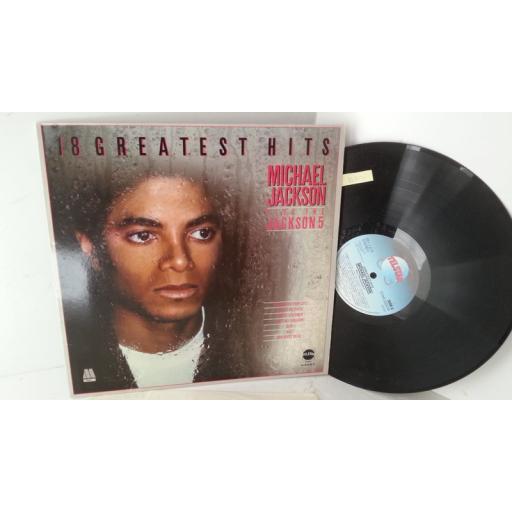 MICHAEL JACKSON PLUS THE JACKSON 5 18 greatest hits, STAR 2232