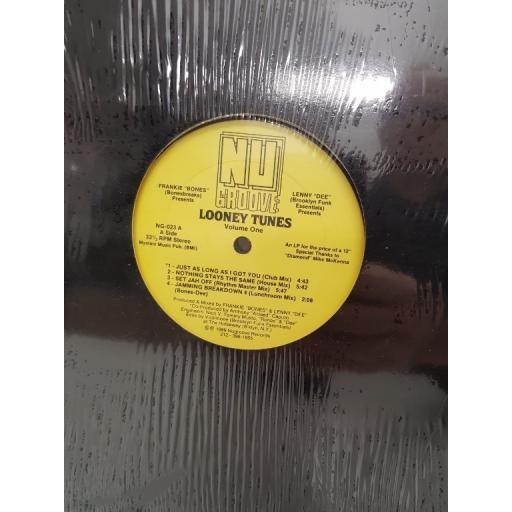 """FRANKIE """"BONES"""" & LENNY """"DEE"""", looney tunes - volume one, NG-023, 12"""" LP"""